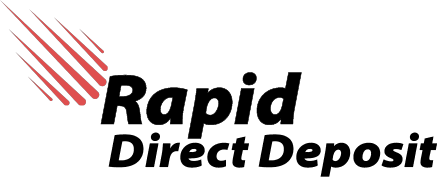 Rapid Direct Deposit Logo