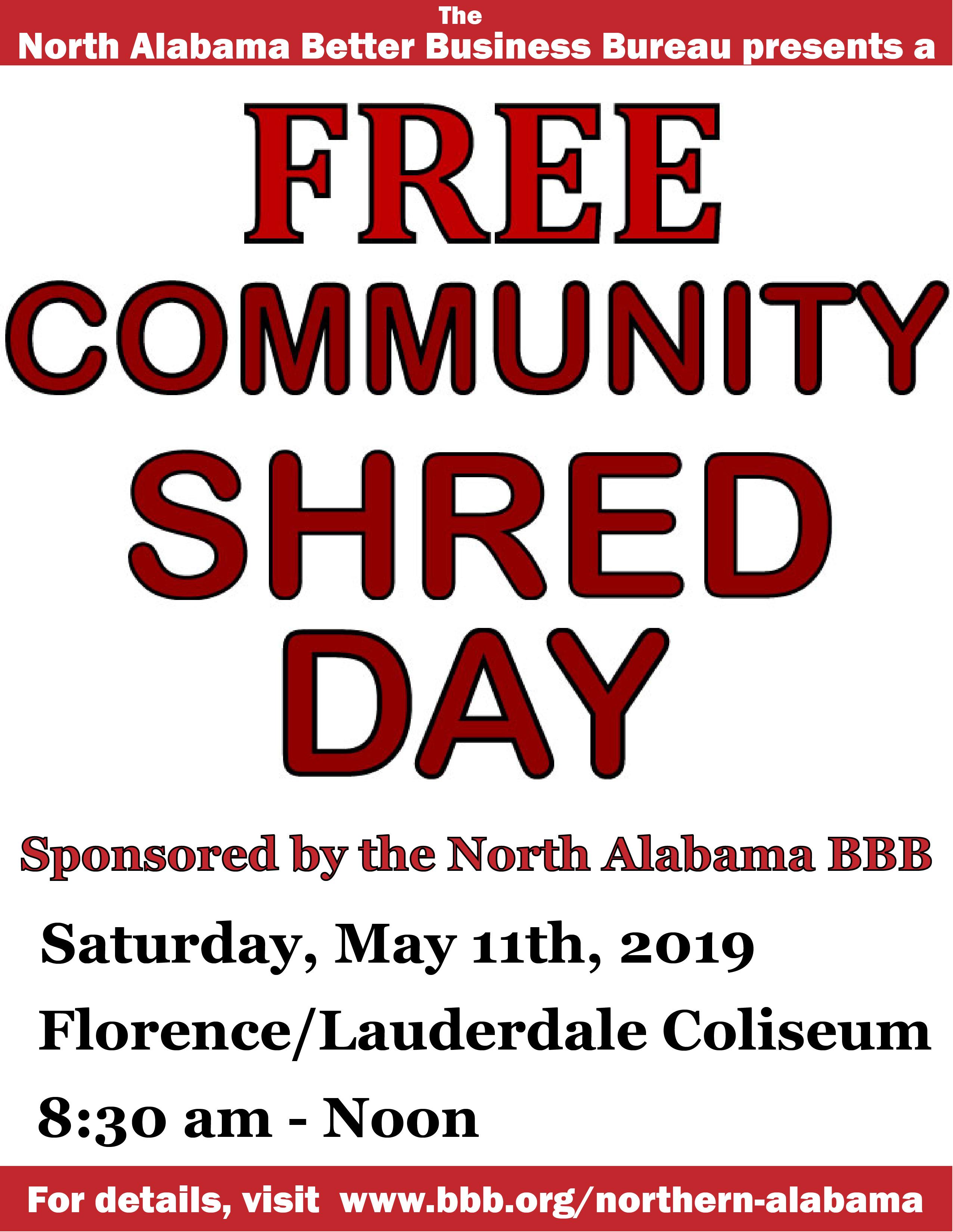 Free Community Shred Day - TVA Community Credit Union